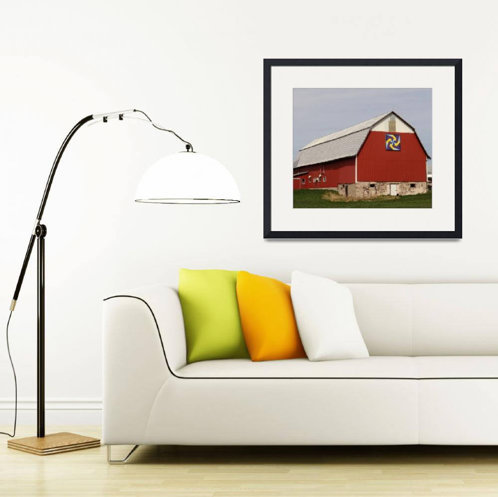 """""""Barn as art&quot  (2012) by Anewsgal"""