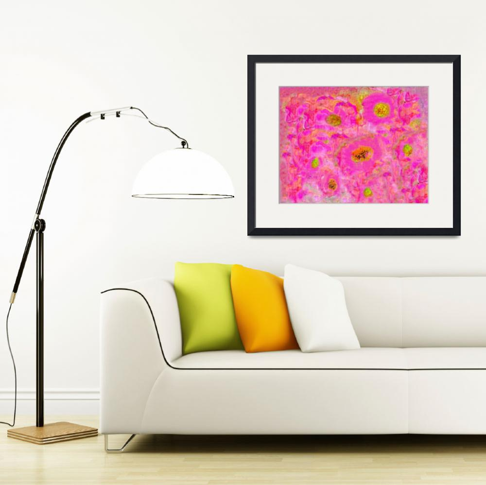 """Floral Abstract A81116&quot  (2016) by MasArtStudio"