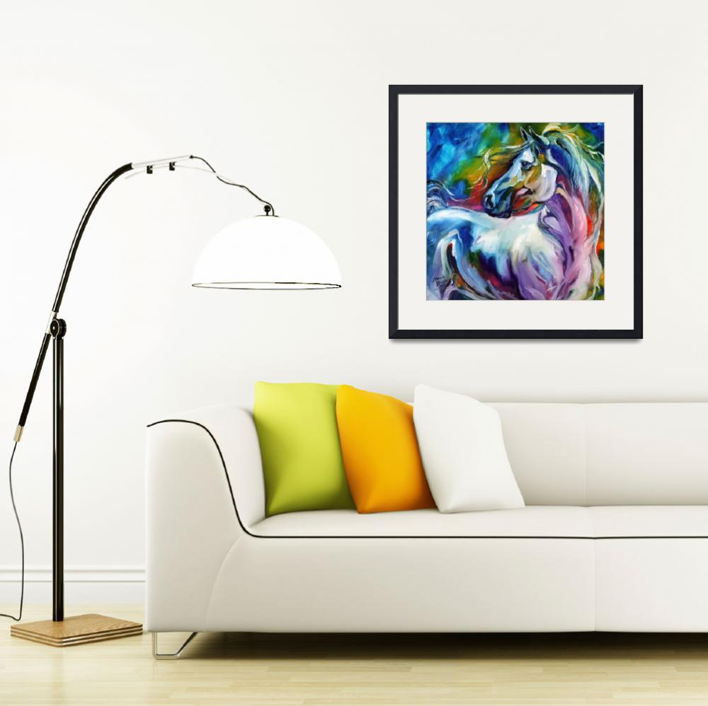 """""""MYSTIC POWER EQUINE""""  (2012) by MBaldwinFineArt2006"""