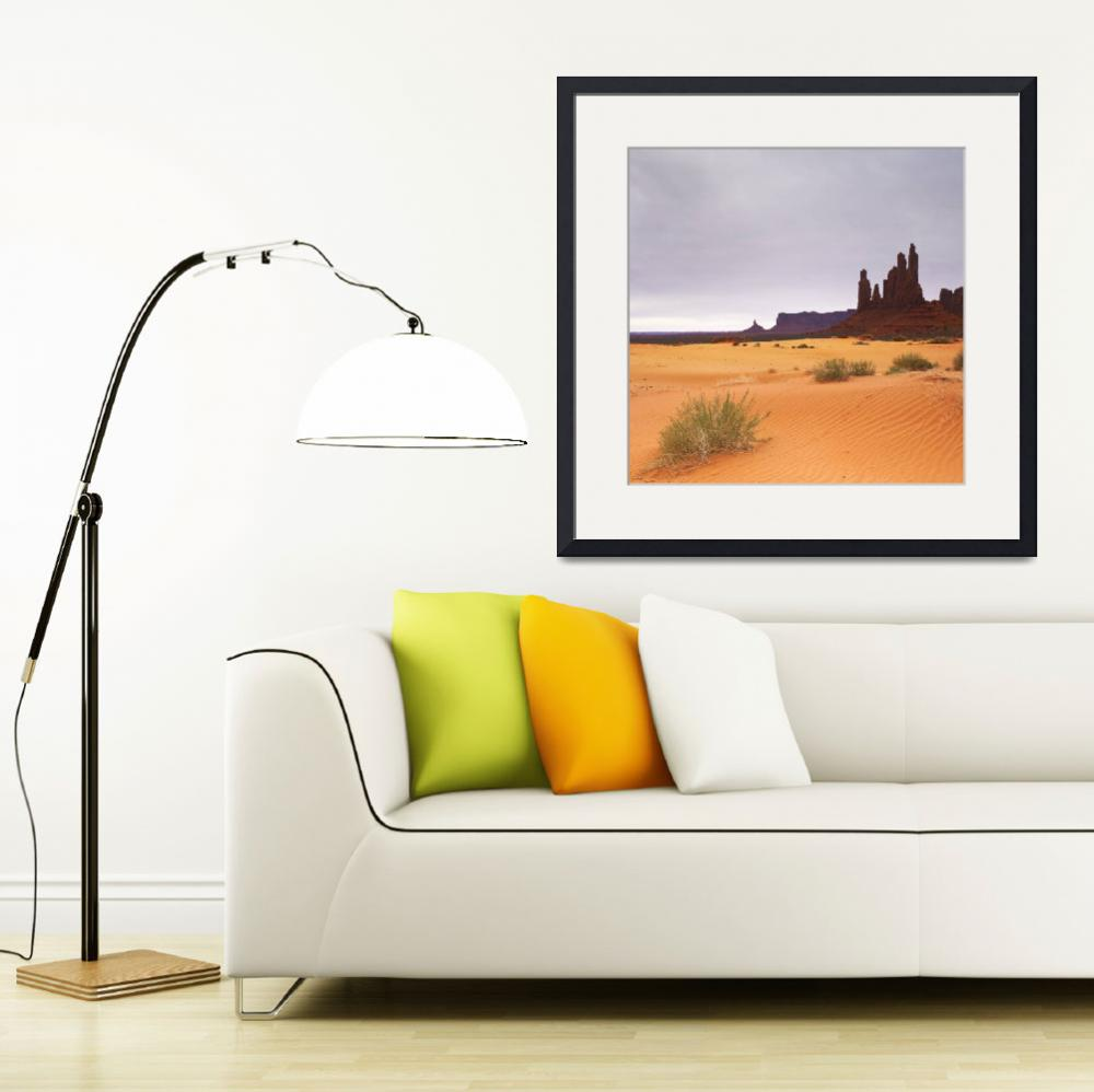"""""""Monument Valley Panorama I, two of two""""  by artlicensing"""