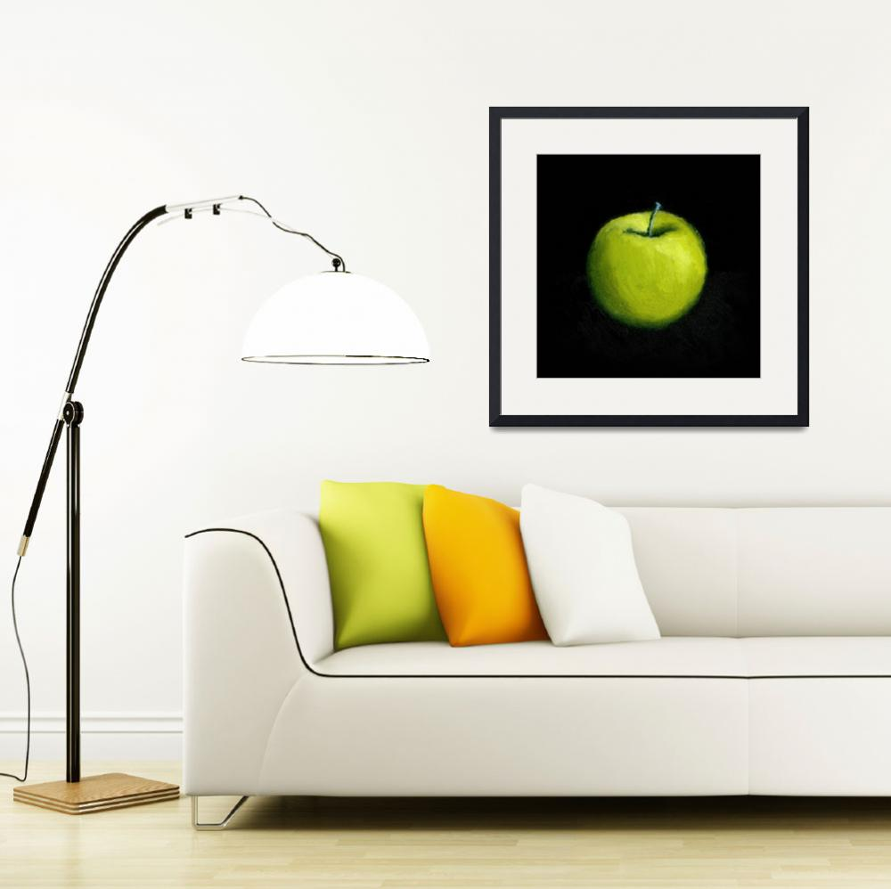 """""""Green Apple Still Life""""  (2007) by Michelle1991"""