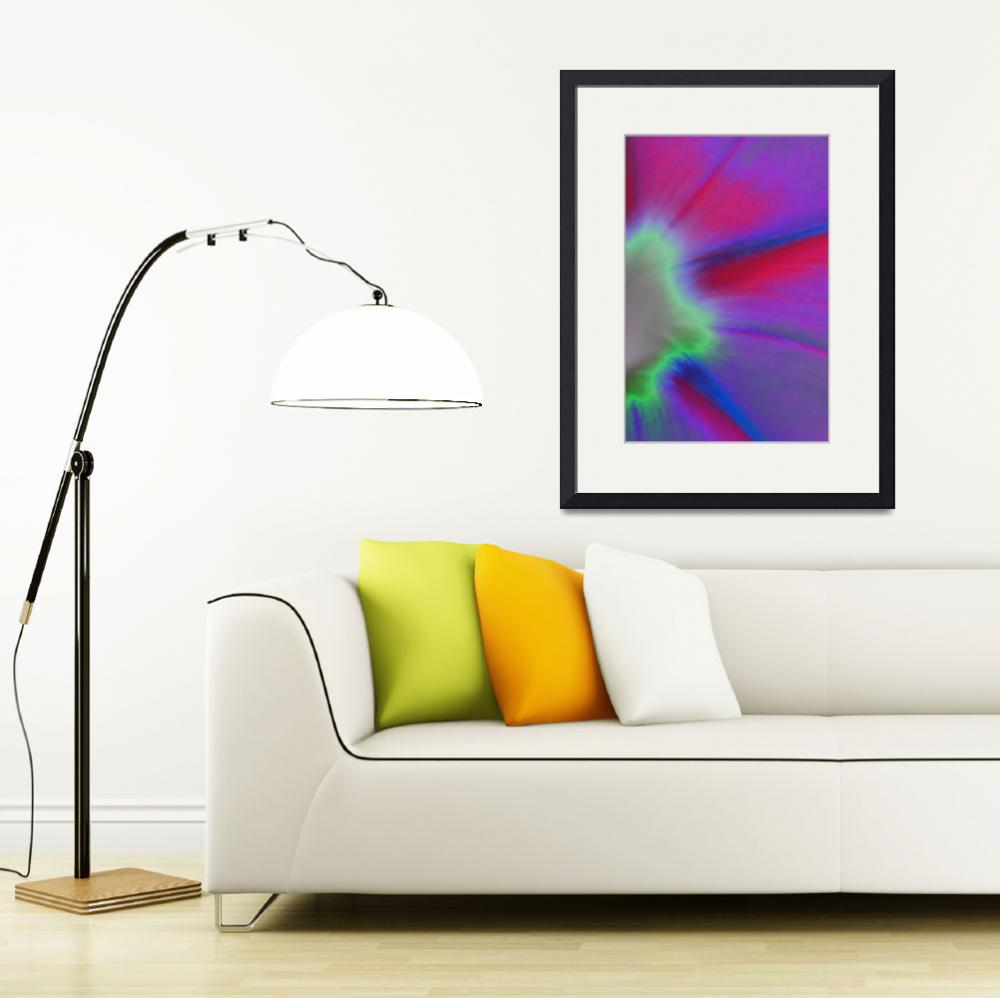 """""""Morning Glory Abstract No2&quot  (2009) by evansonart"""