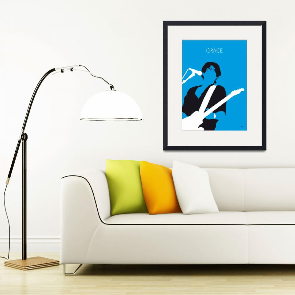 """""""No129 MY Jeff Buckley Minimal Music poster&quot  by Chungkong"""