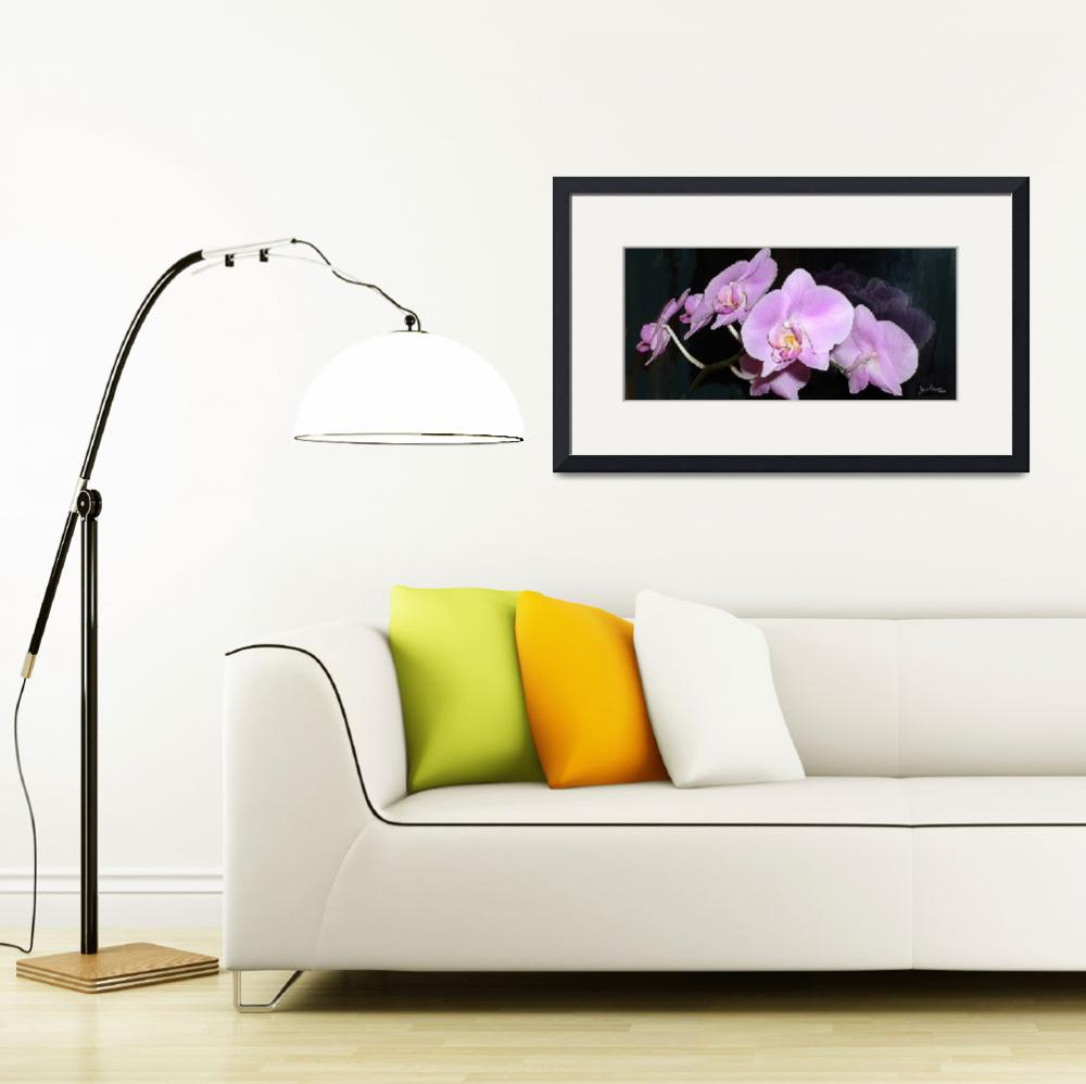 """""""Pink-Orchid-Glory&quot  (2009) by heyalicia"""