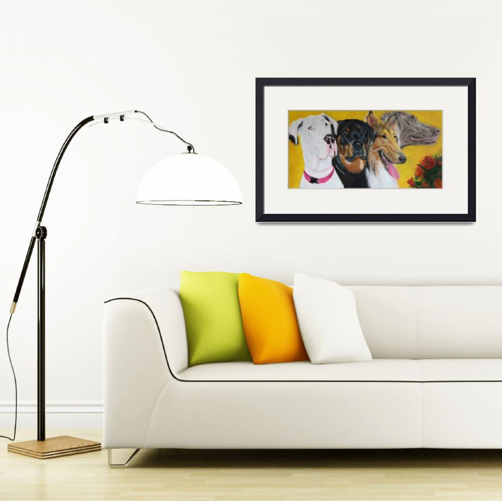 """""""Bright and Beautiful - """"Companions of Therapy""""&quot  (2007) by ArtPrints"""