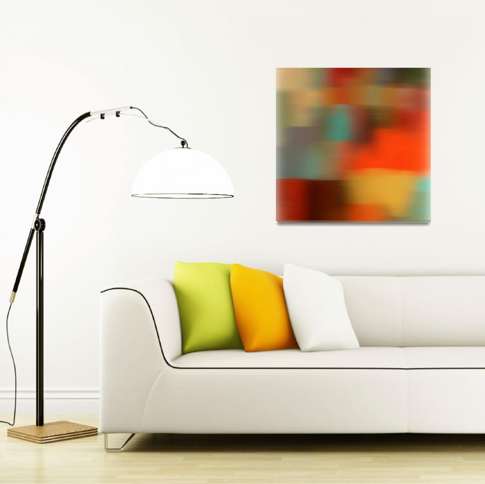 """""""Dreamy Abstract No 3-1F&quot  by Aneri"""