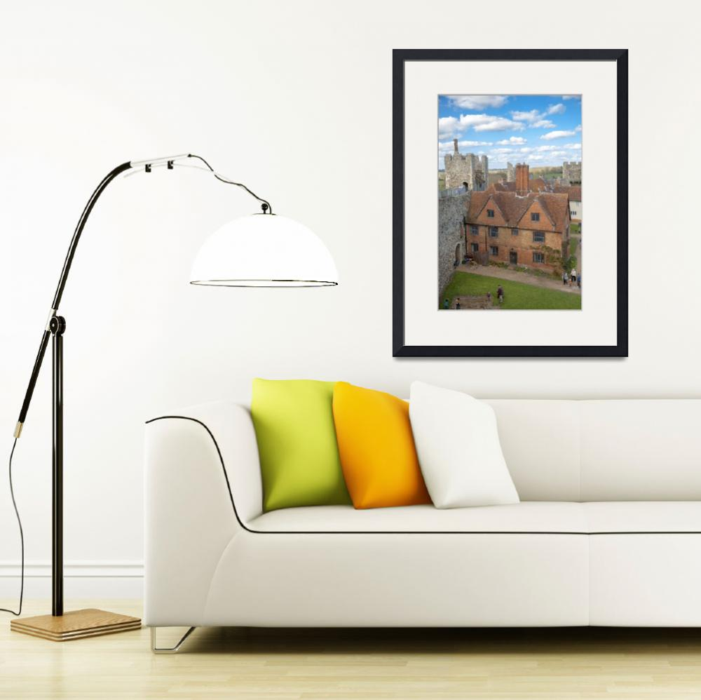 """Framlingham Castle""  (2016) by daveturnerphotography"