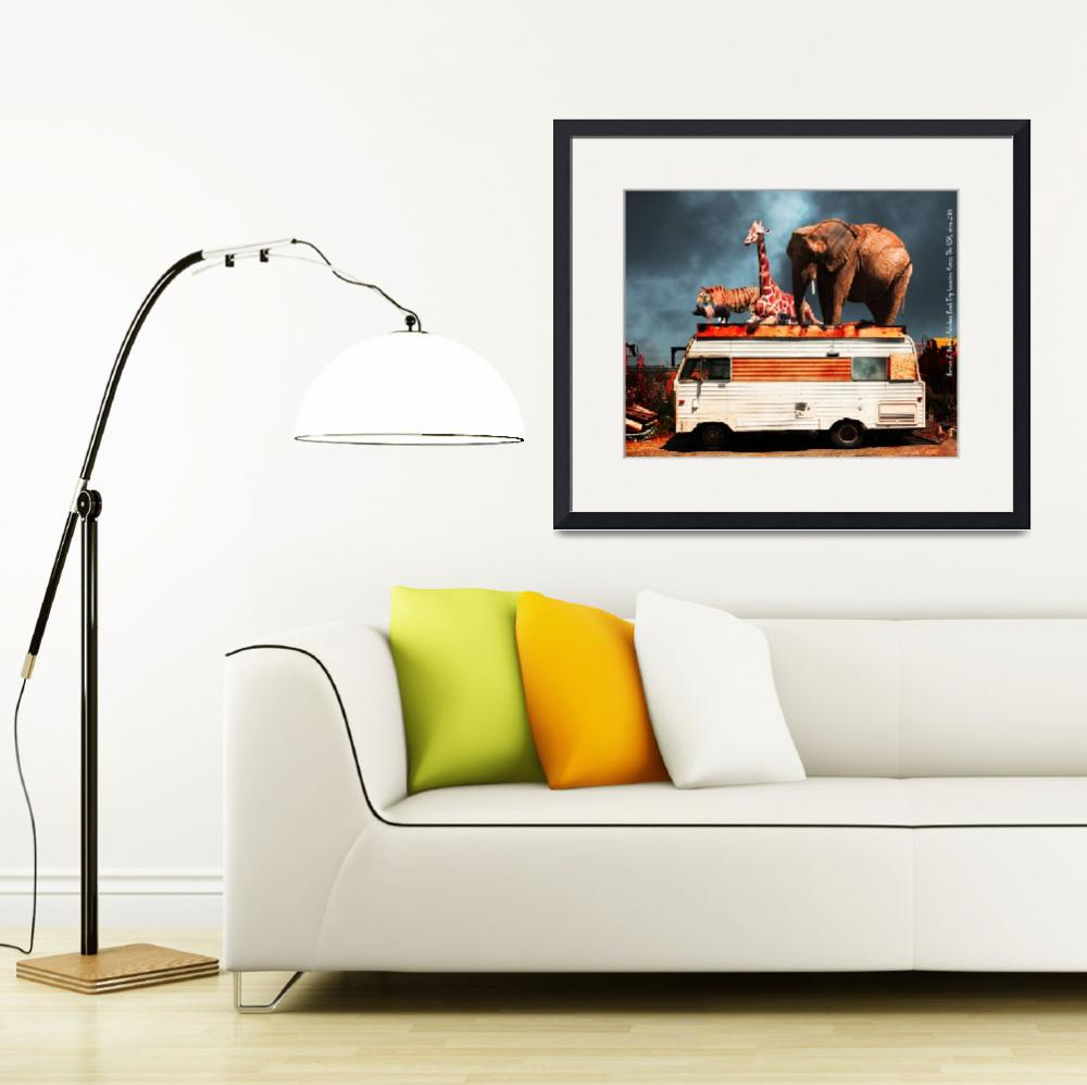 """""""Barnum and Baileys Fabulous Road Trip Vacation Acr&quot  (2013) by wingsdomain"""