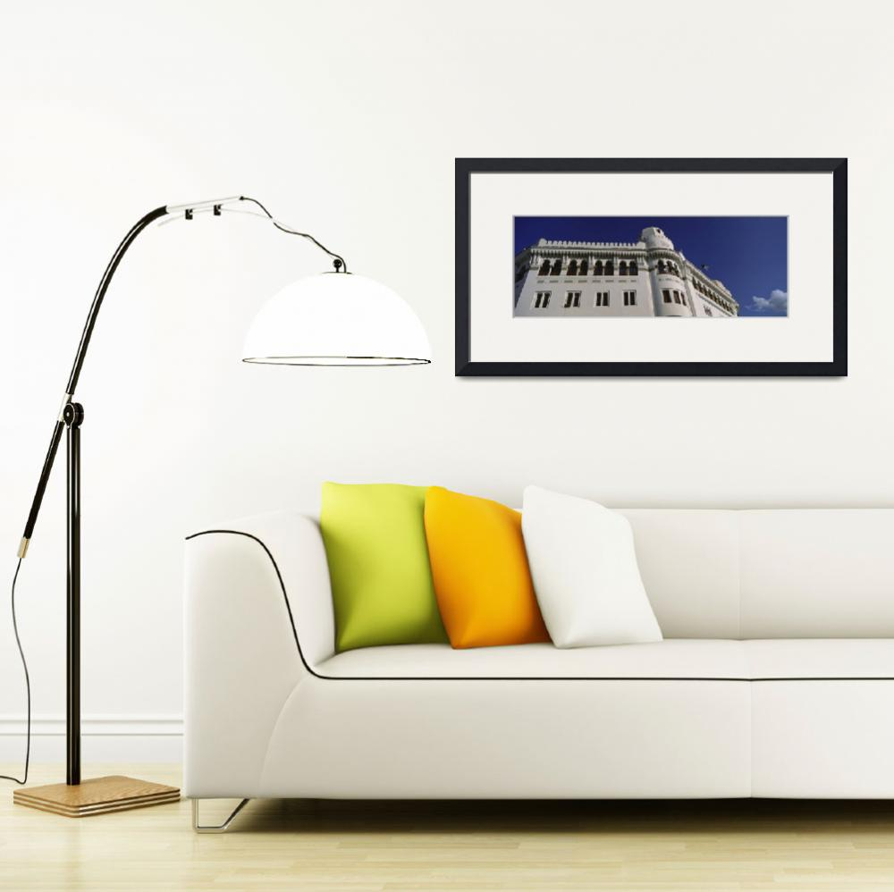 """""""Low angle view of a post office""""  by Panoramic_Images"""