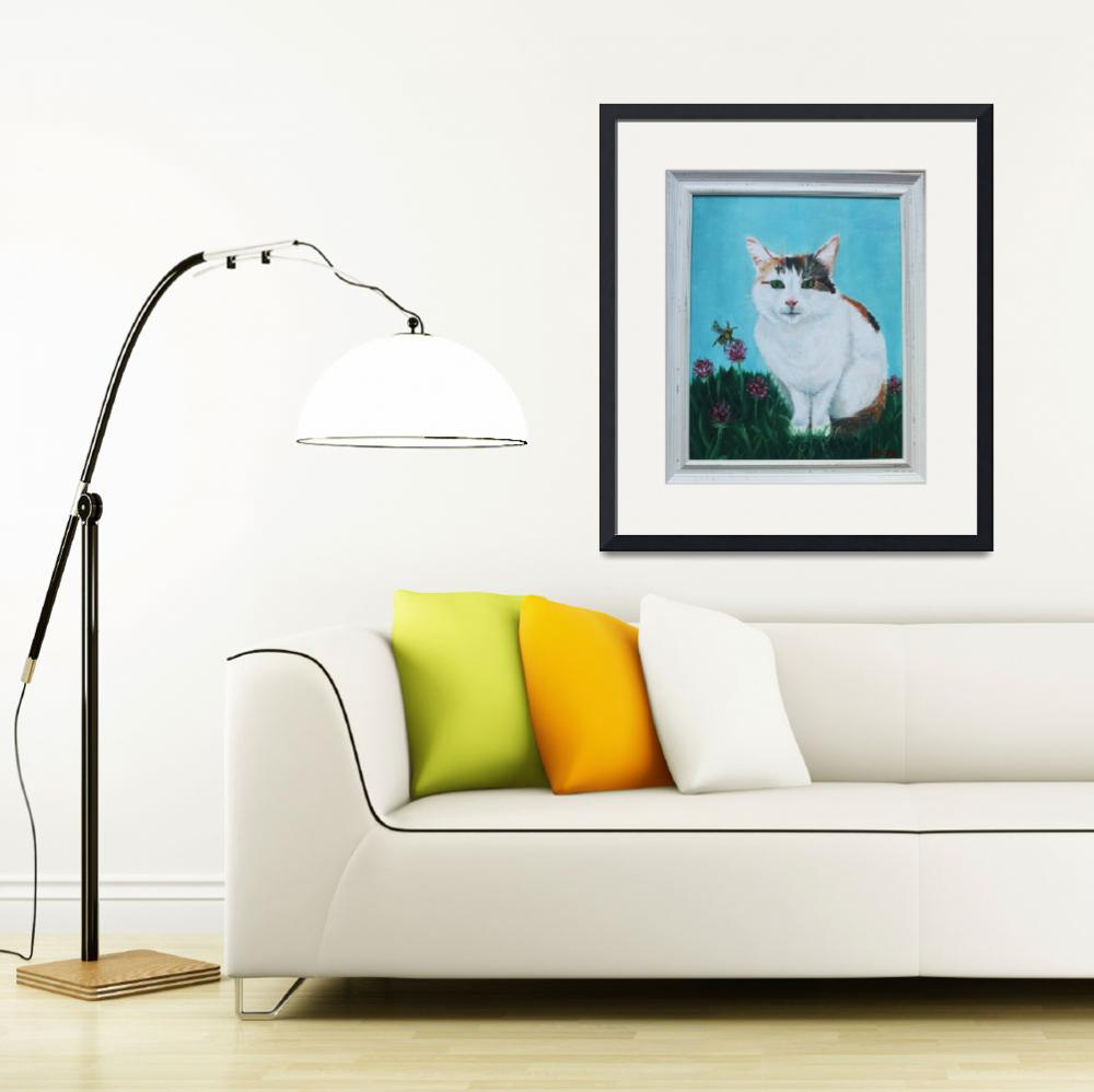 """""""Berby Cat - A Commission""""  by JoanneCasey"""