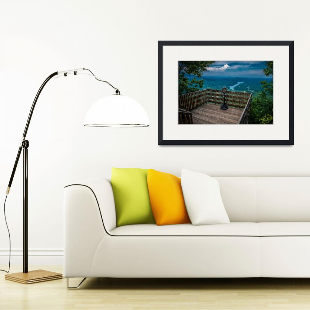 """""""lake lure overlook&quot  by digidreamgrafix"""