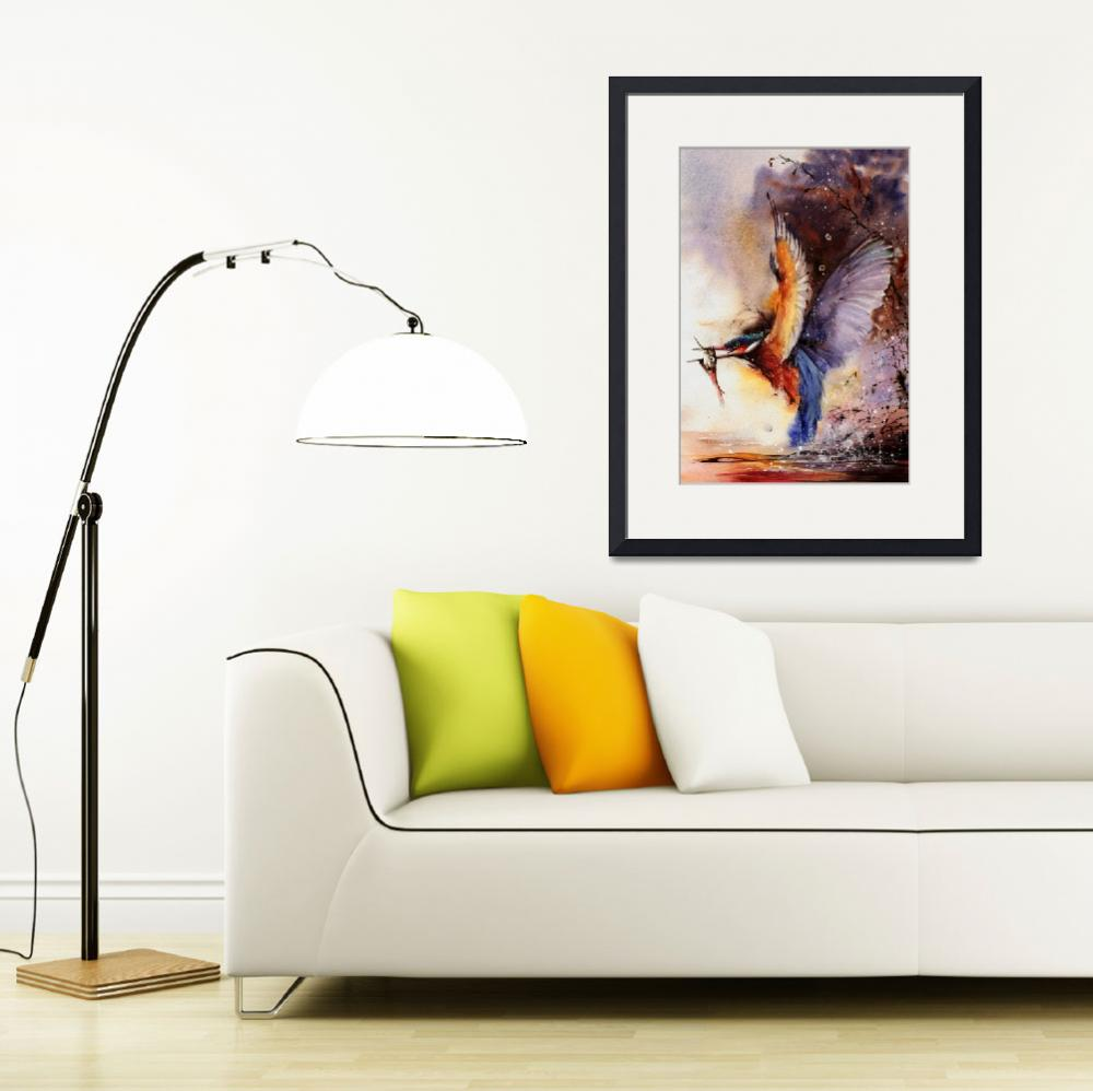 """""""A Splash Of Colour&quot  (2010) by MightyFineArt"""