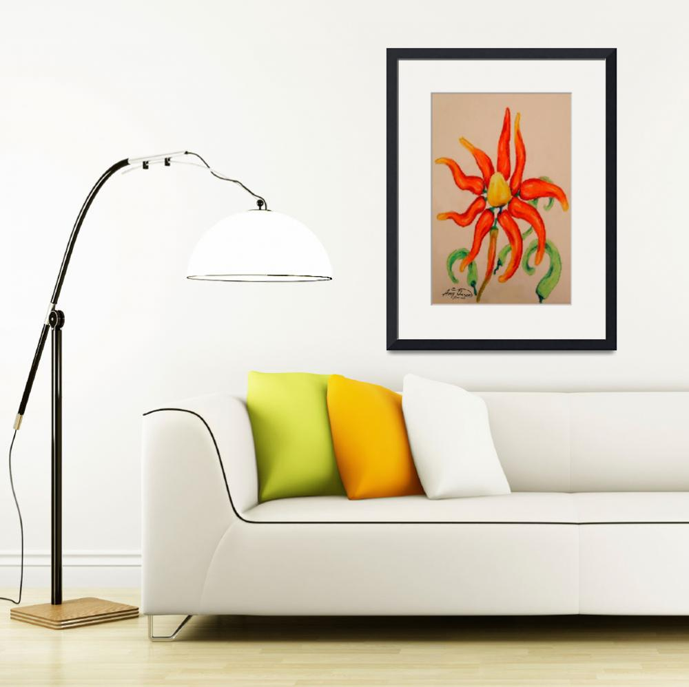 """""""hot pepper lily""""  (2007) by AmyQueen"""