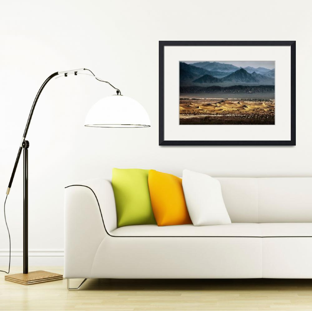 """mesquite dunes from above""  by jody9"