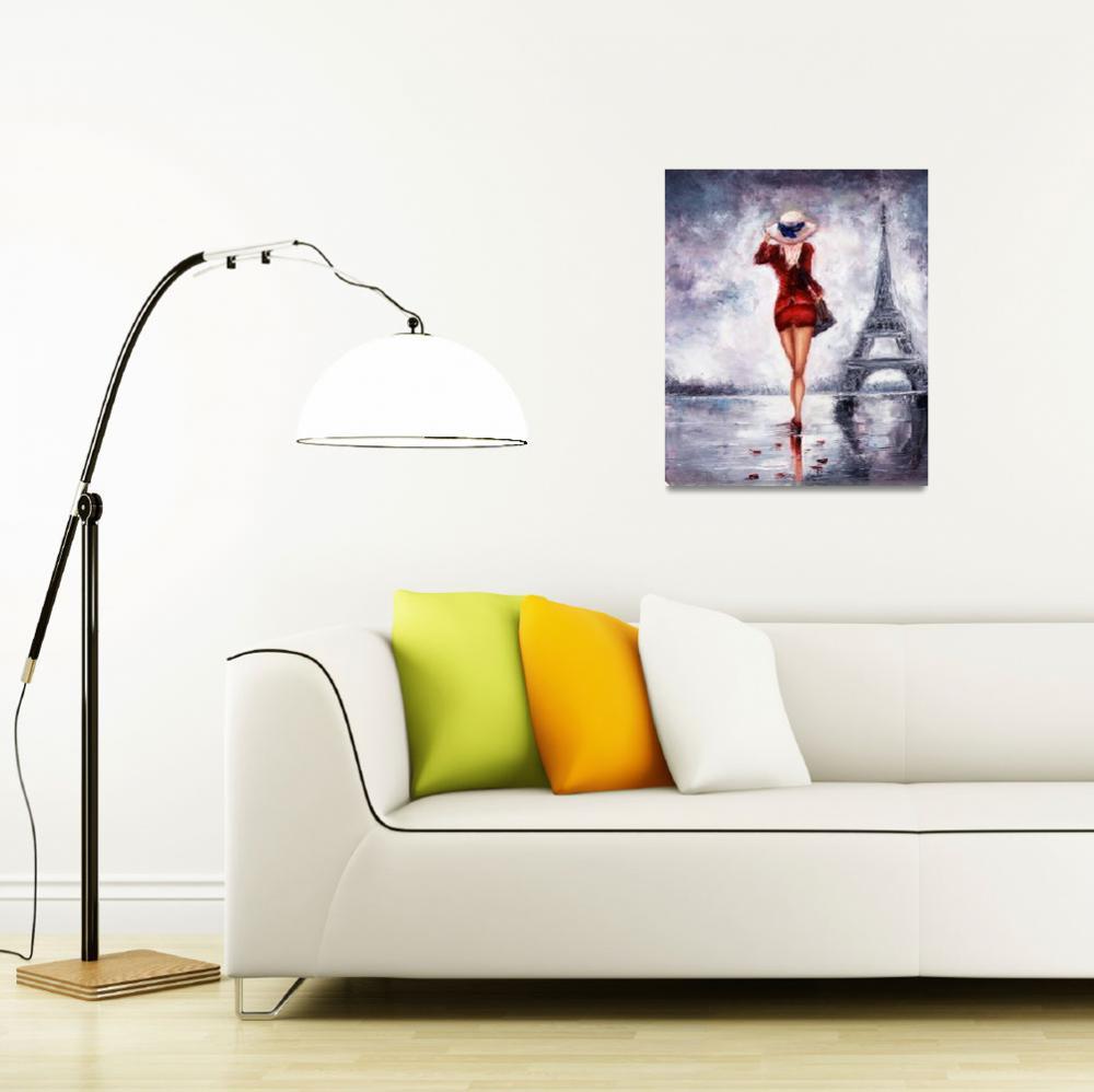 """Woman in Paris""  by boyan"