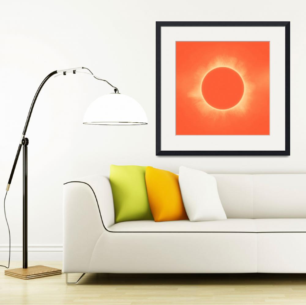 """Solar Eclipse in Sunset Color&quot  by motionage"