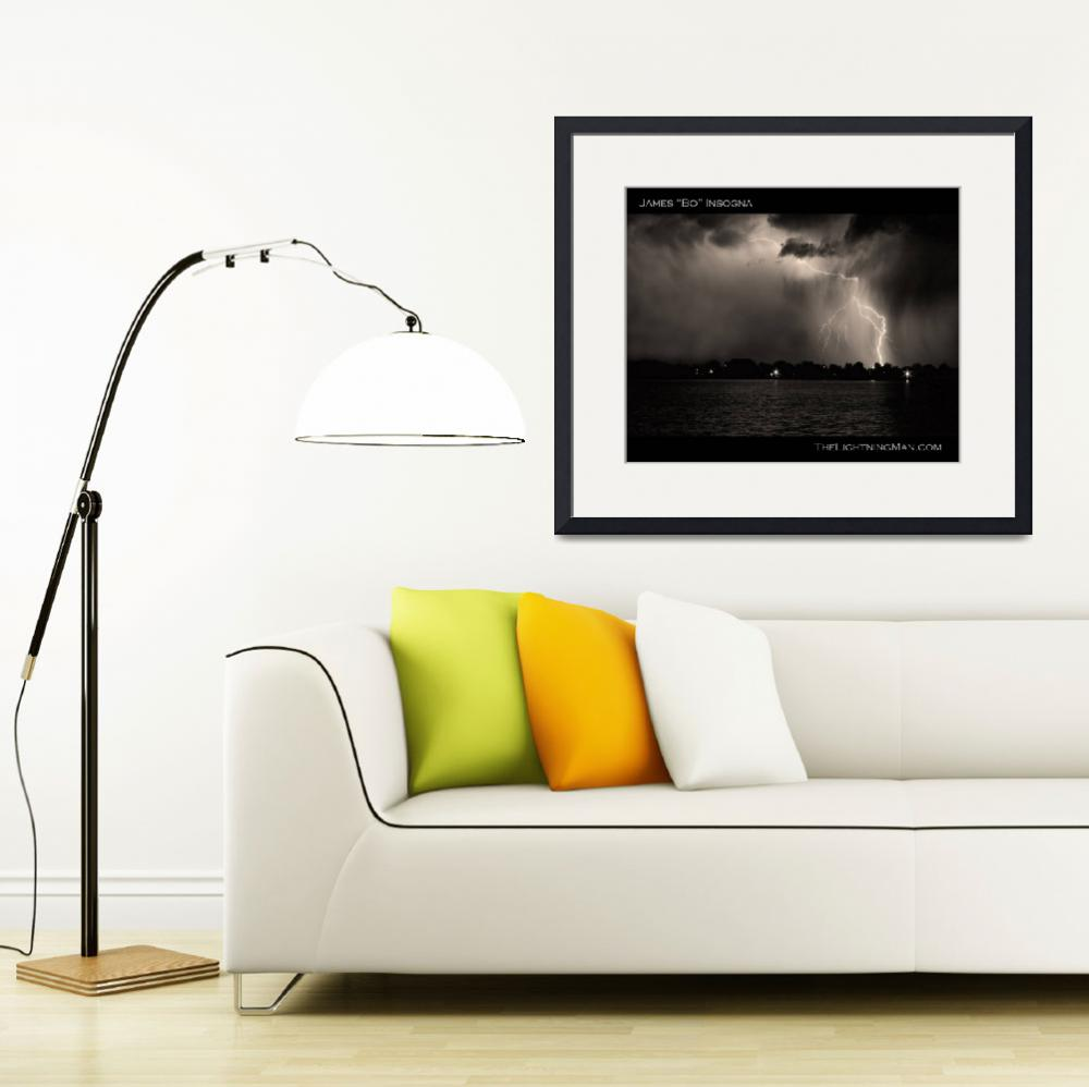 """Lightning Energy Poster Print&quot  (2010) by lightningman"