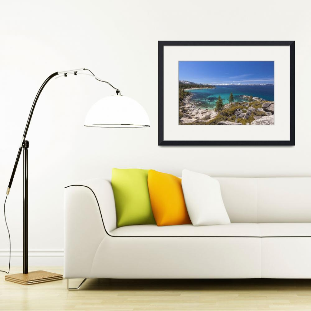 """""""Sand Harbor, Lake Tahoe&quot  (2010) by markeloperphotography"""
