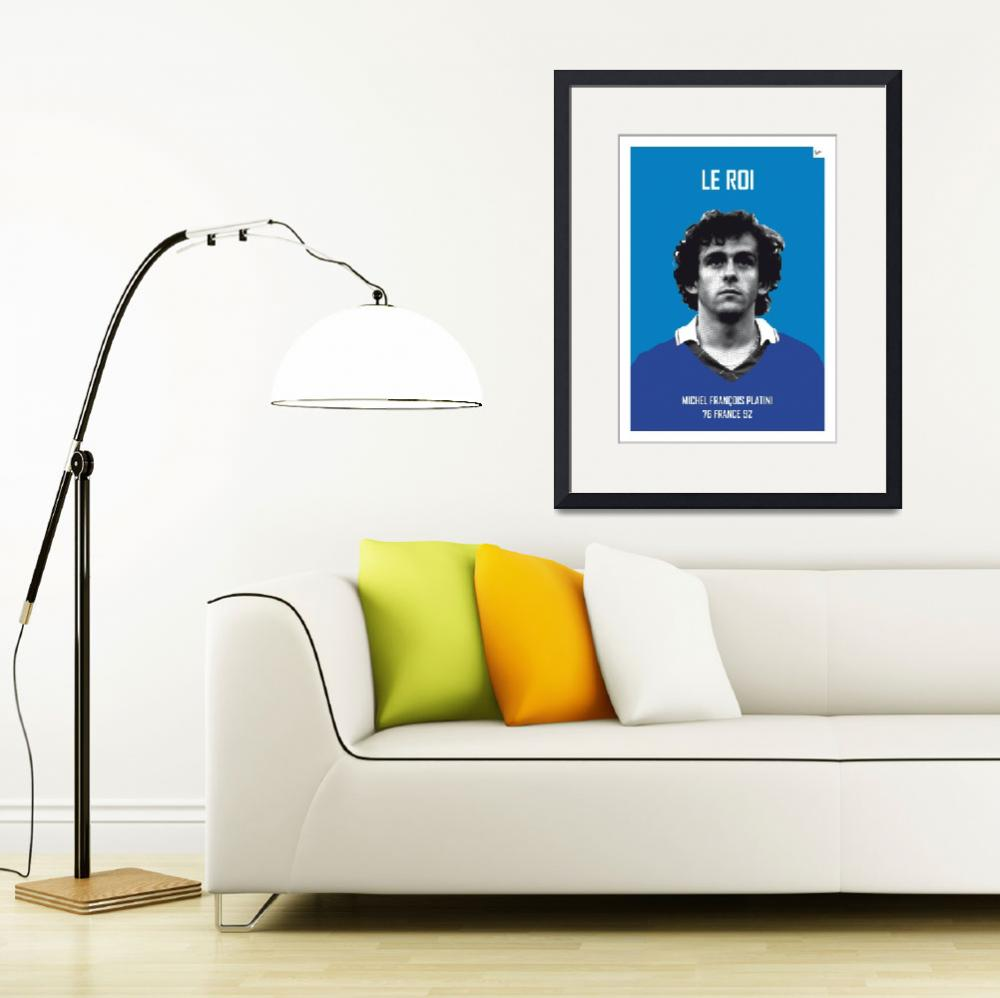 """My Platini soccer legend poster&quot  by Chungkong"