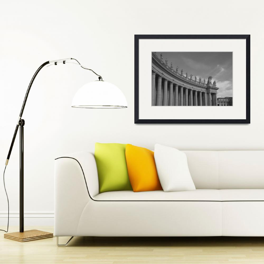"""Ancient Rome Framed Print""  by buddakats1"