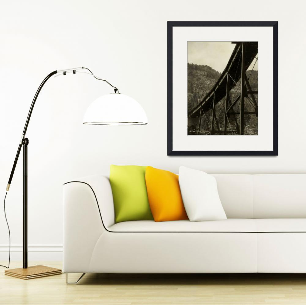 """""""Curved Span on the Georgetown Loop&quot  (2010) by RCdeWinter"""