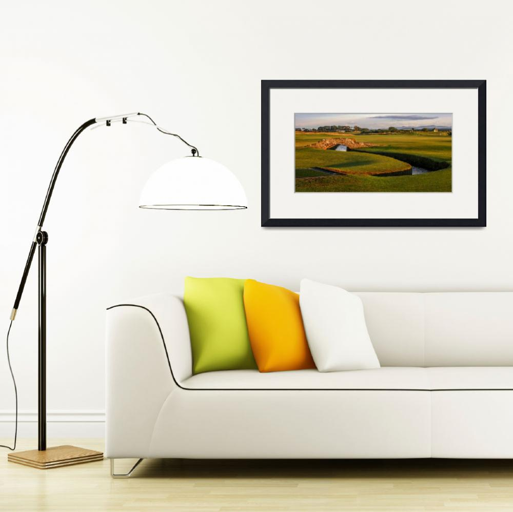 """St. Andrews Links Golf Course Swilcan Bridge 2&quot  (2004) by Richimage"