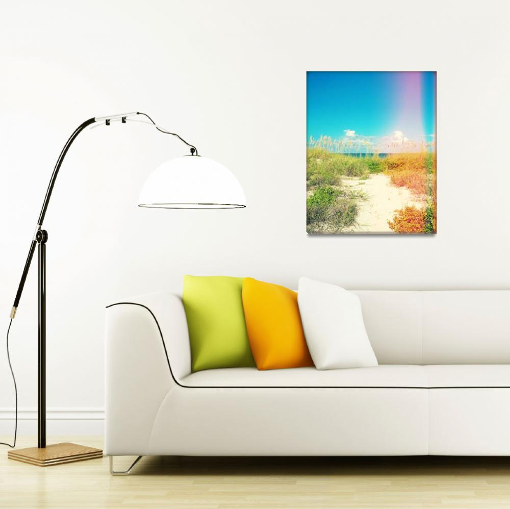 """Island Pathway Photography""  (2014) by ChrisAndruskiewicz"