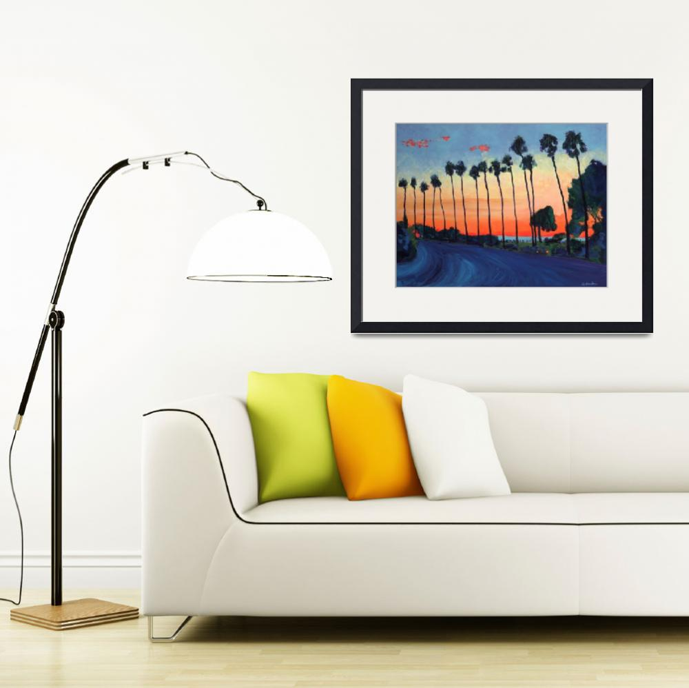 """California Sunset La Jolla Beach&quot  (2006) by RDRiccoboni"