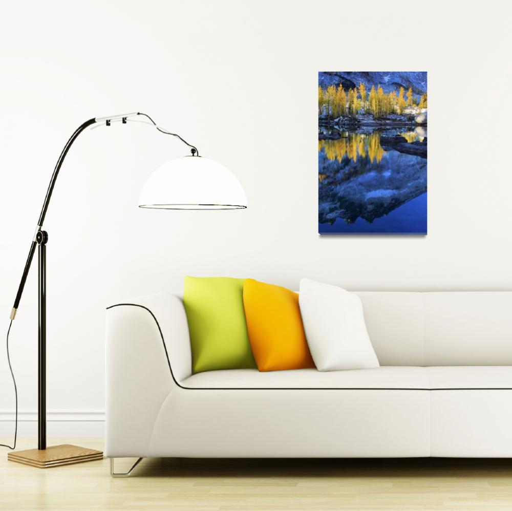 """""""Blue and Yellow&quot  (2009) by Inge-Johnsson"""