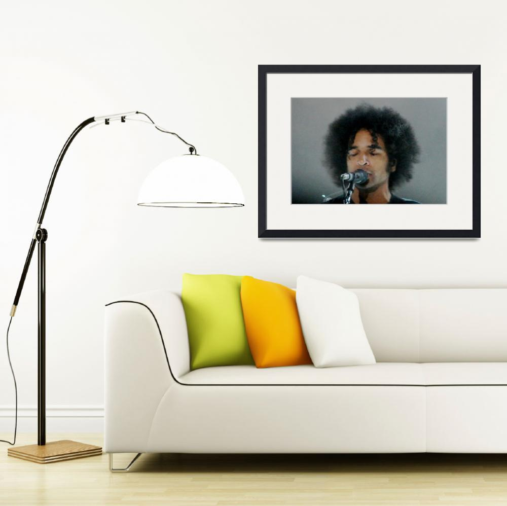 """Alice in Chains - William DuVall Headshot&quot  (2010) by robvena"