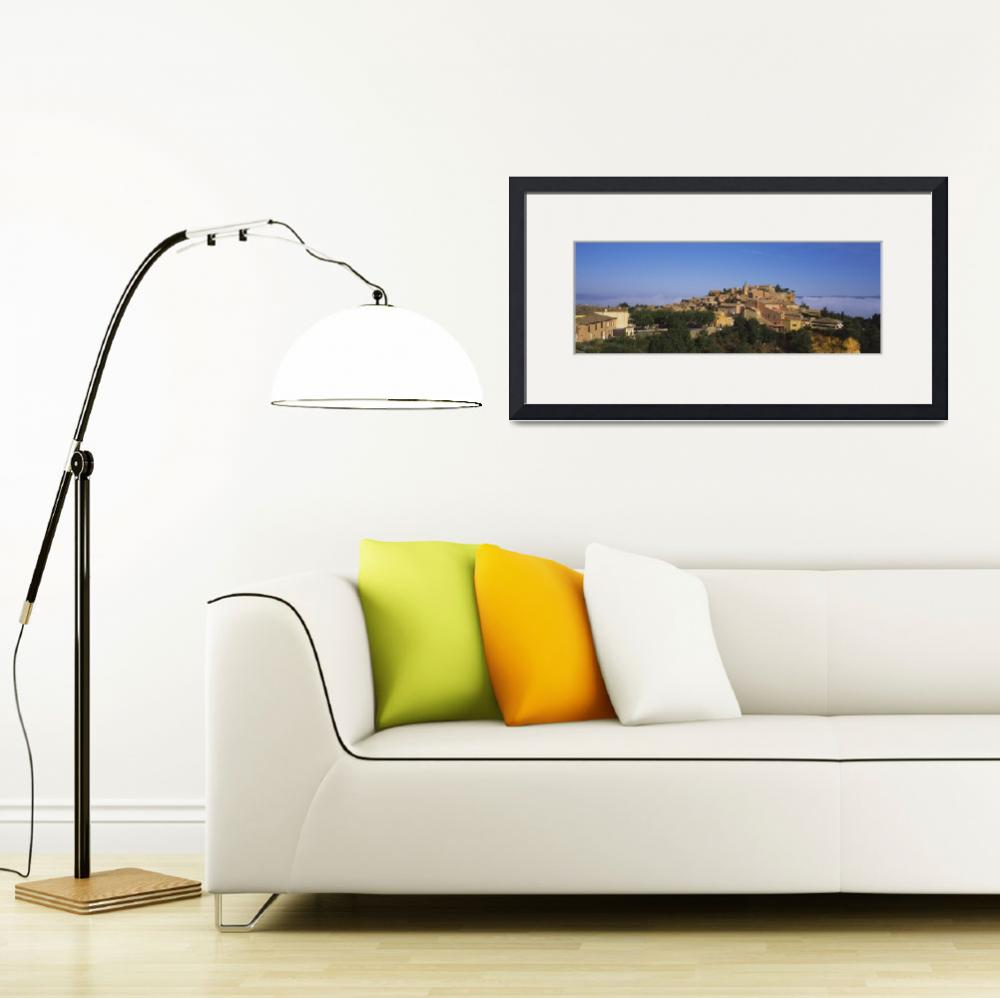 """""""Village on a hilltop&quot  by Panoramic_Images"""