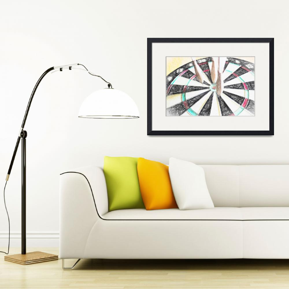 """""""Darts Abstract&quot  by patsphotos"""