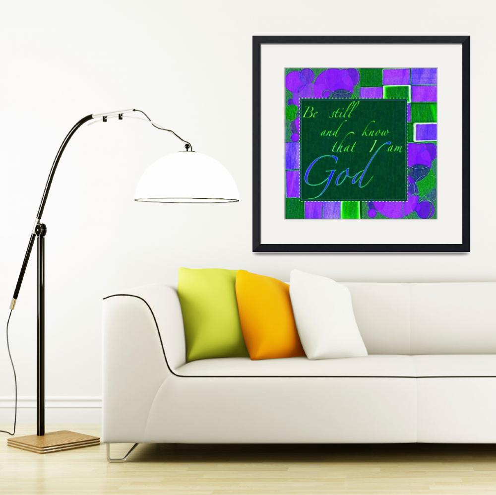 """""""be still color block green and dk purple""""  by lizmix"""