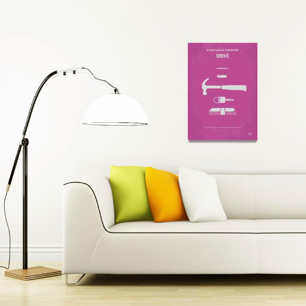 """""""No258 My DRIVE minimal movie poster""""  by Chungkong"""
