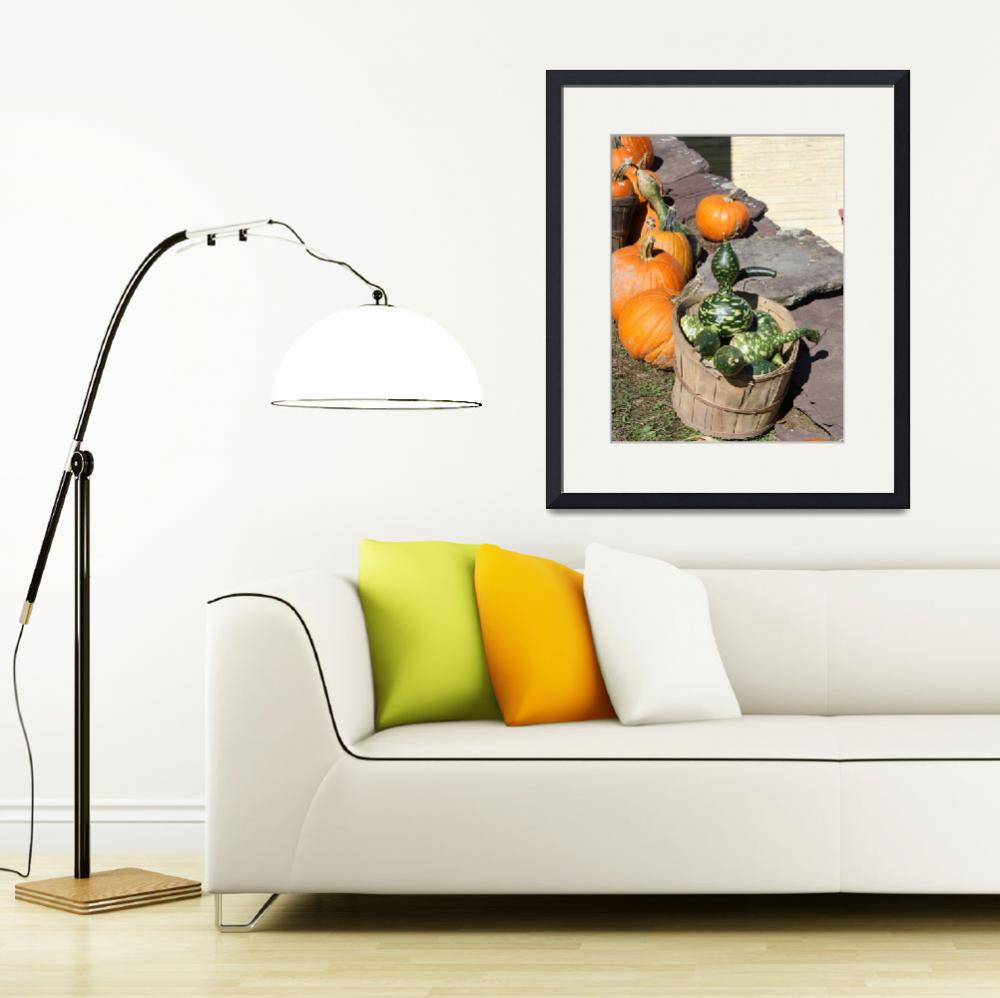 """Gourds and Pumpkins&quot  (2010) by scenesbyjd"