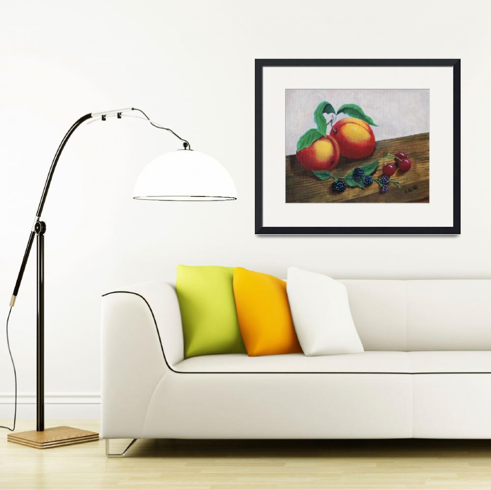 """""""Simply Fruit&quot  (2018) by EMBlairArtwork"""