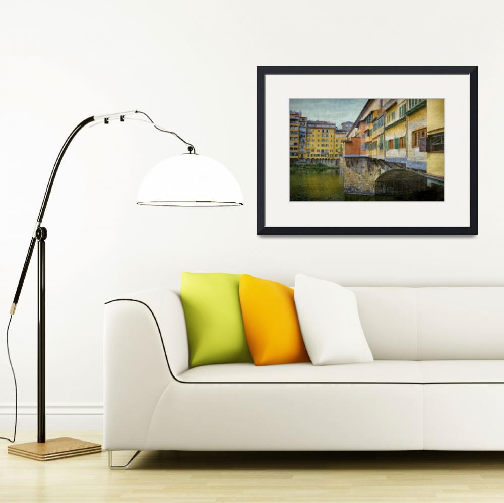"""""""At the Ponte Vecchio&quot  (2015) by PaulCoco"""