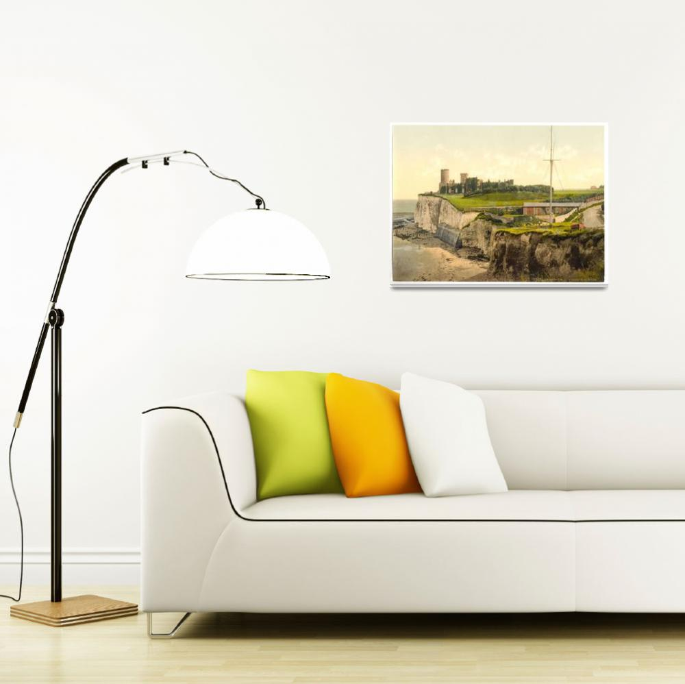 """""""Vintage Photo-Print of Kingsgate Castle (1900)&quot  by Alleycatshirts"""