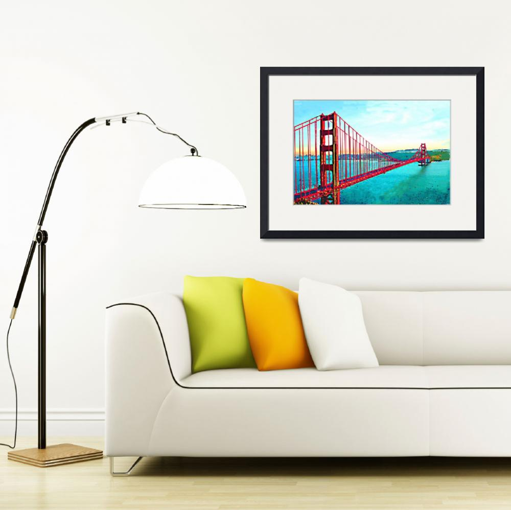 """""""Golden Gate""""  (2011) by AndreaMeyer"""