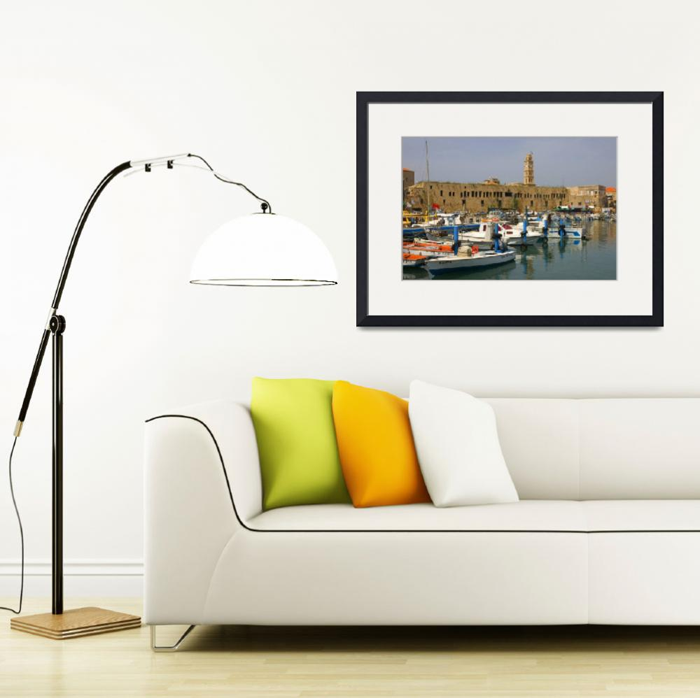 """""""Acre port, Israel&quot  (2007) by eyalna"""