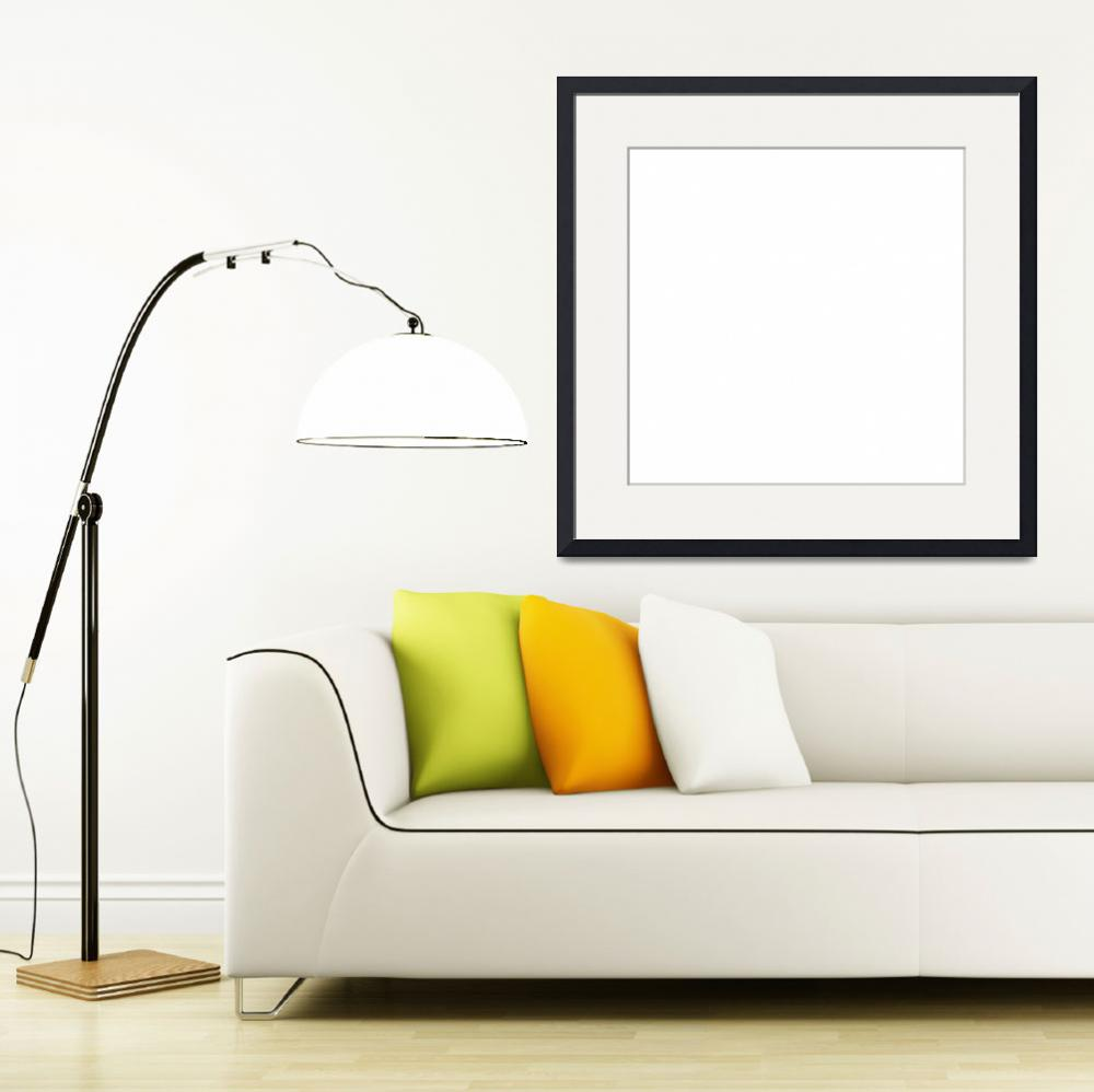 """""""Square PMS-White Solid HEX-FFFFFF White&quot  (2010) by Ricardos"""