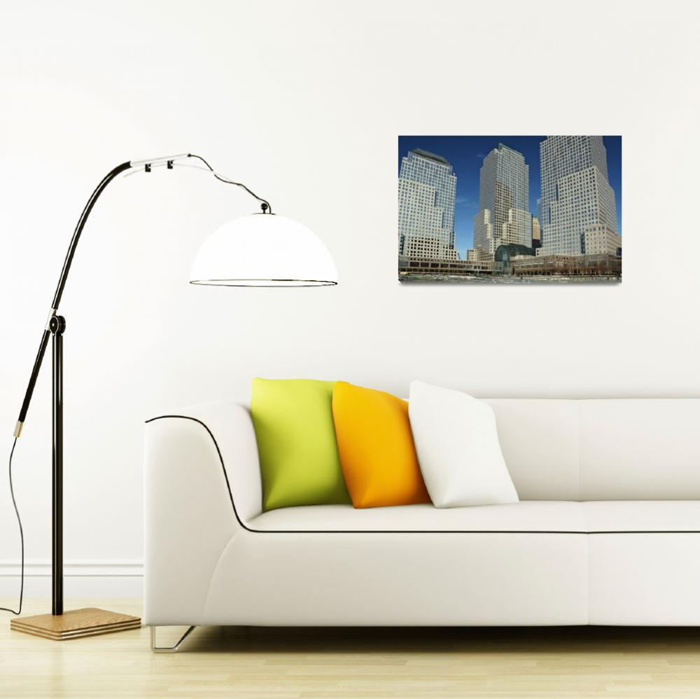 """""""World Financial Center&quot  (2006) by PaulCoco"""