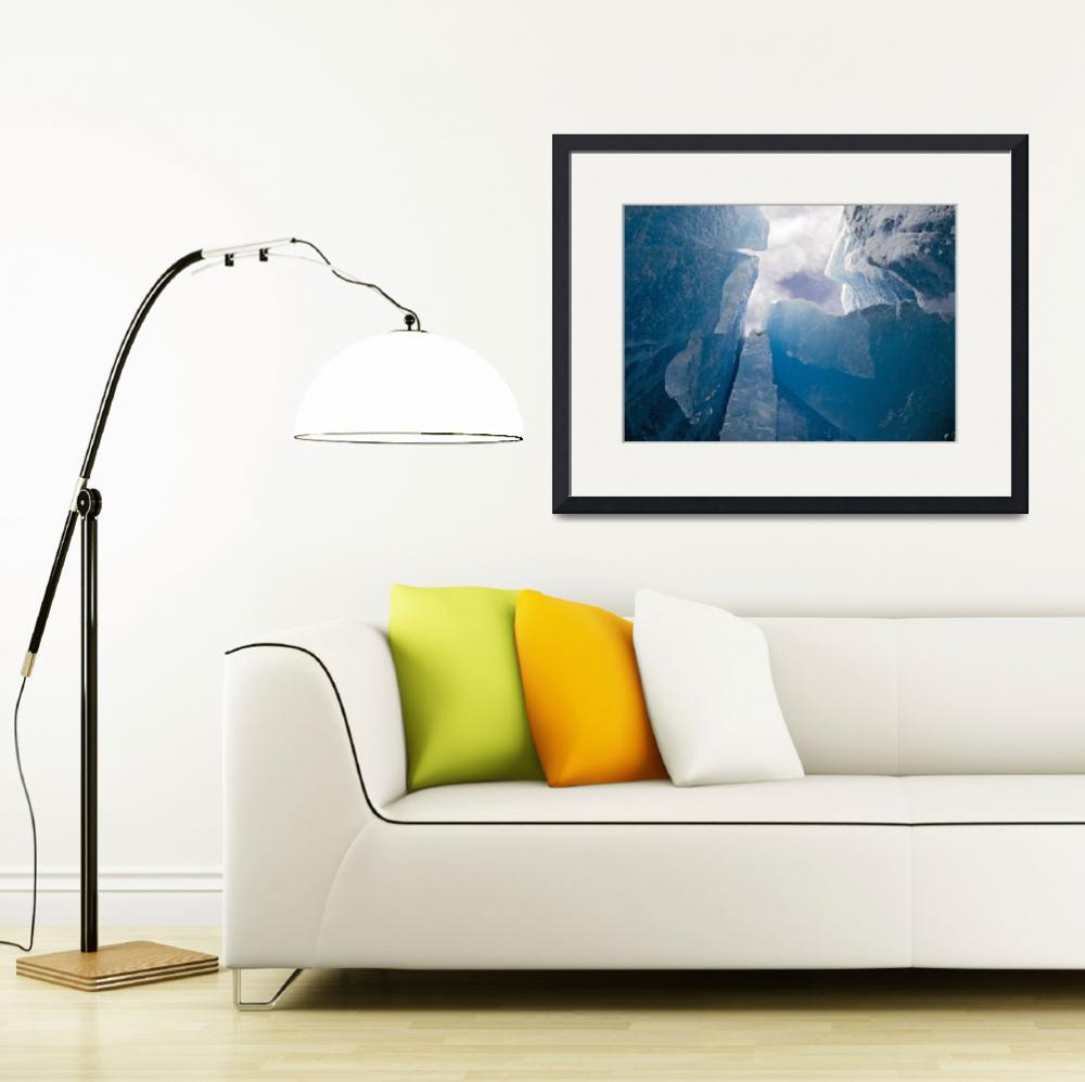 """""""Mendenhall Ice I&quot  (2009) by starkvision"""