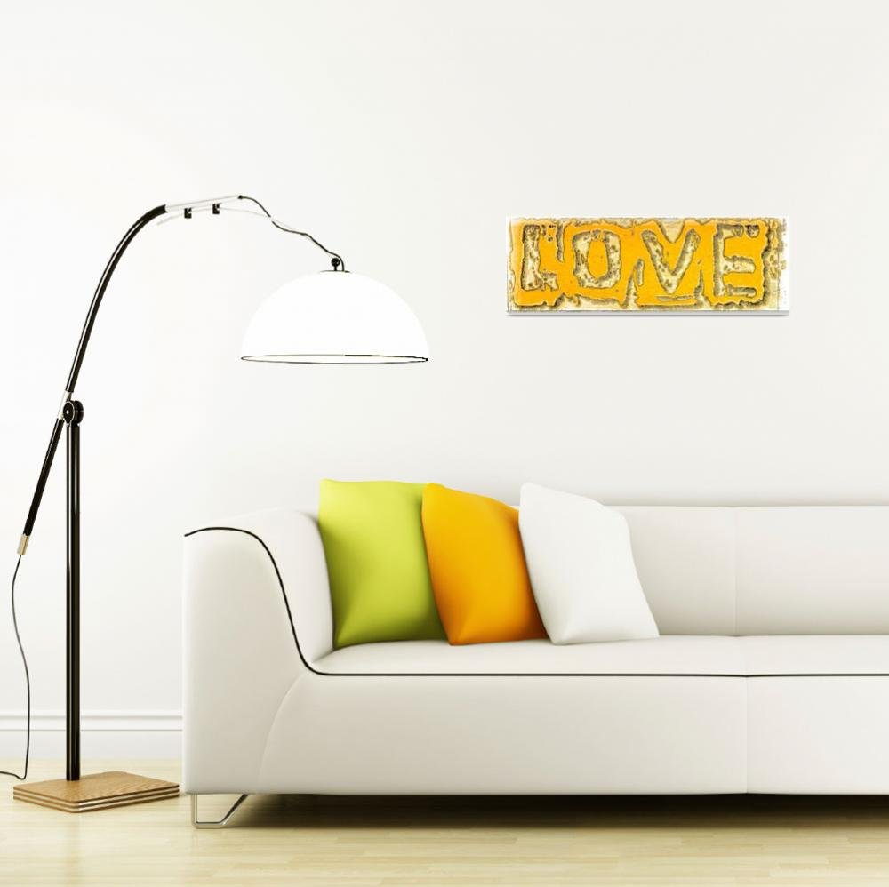 """""""love yellow illustration""""  by lizmix"""