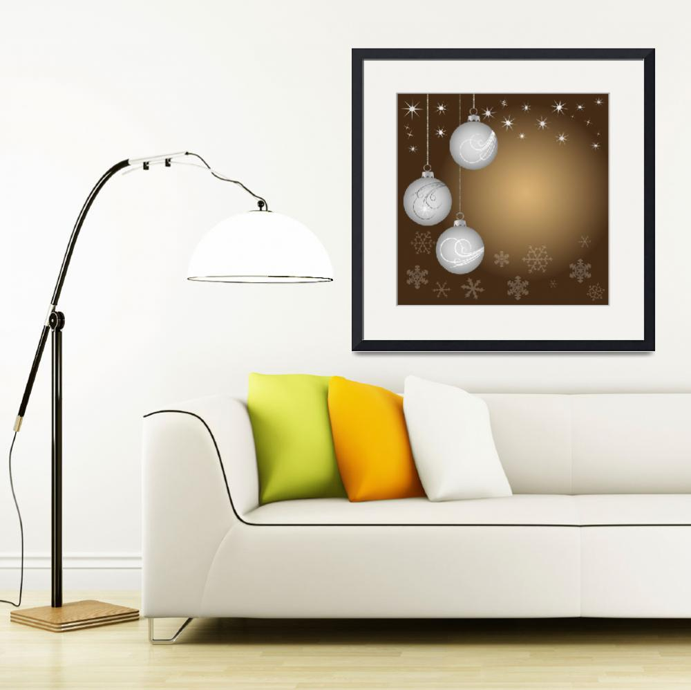 """""""Christmas decoration - Christmas balls""""  by lamich"""