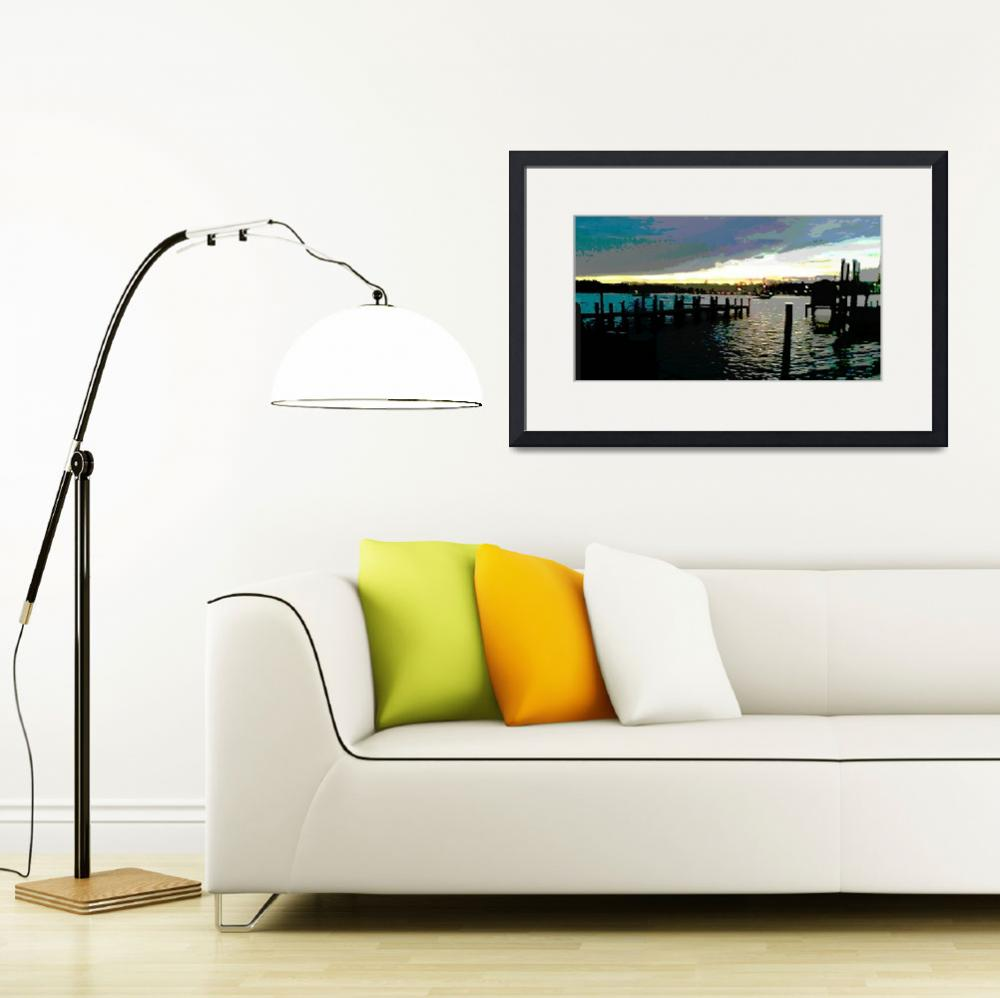 """Deale Maryland Harbour Seascape""  by grl"