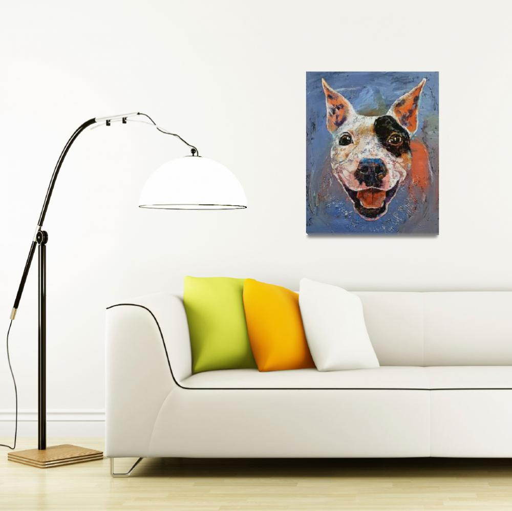 """""""Happy Pitbull&quot  by creese"""