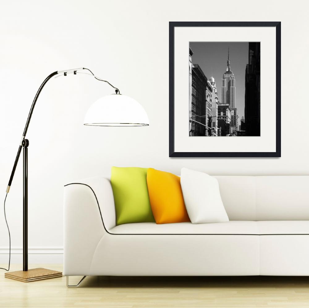 """""""Empire State Building New York City&quot  (2015) by DonnaNYC"""