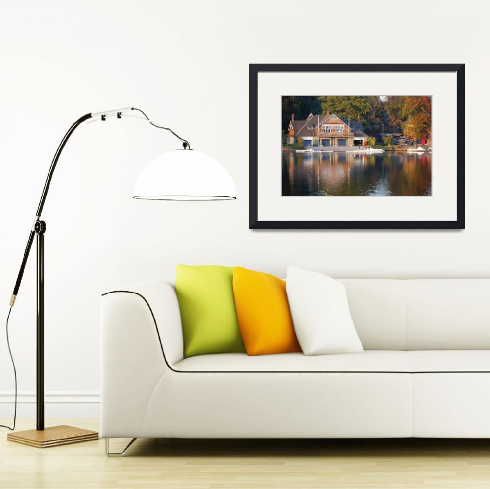"""""""Boathouse Row2-Philadelphia, Pa&quot  (2008) by jcarcreations"""