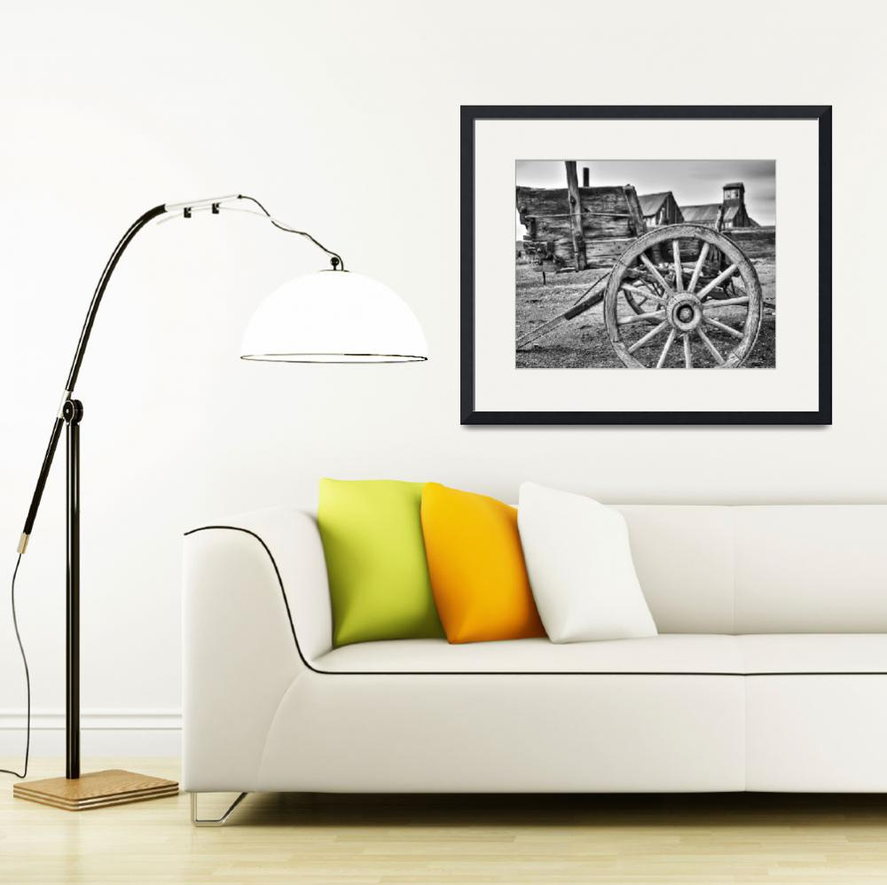"""""""Old West Wagon&quot  (2010) by jameseddy"""